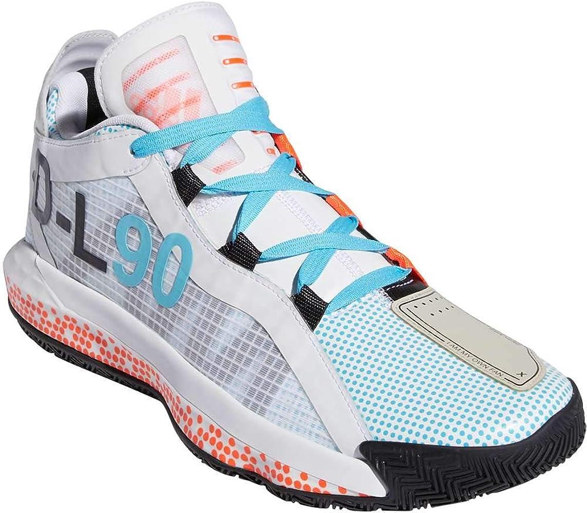 adidas Mens Dame 6 Basketball Shoes