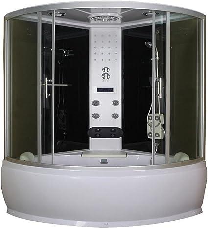 Cabina combinada ducha vapor de hidromasaje y Cuba: Amazon.es: Hogar