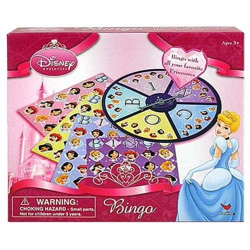 Disney Princess Bingo Game By Cardinal Games