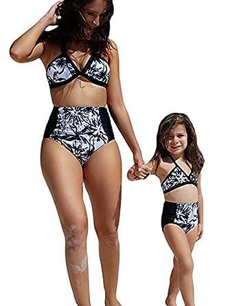 Daughter in bikini