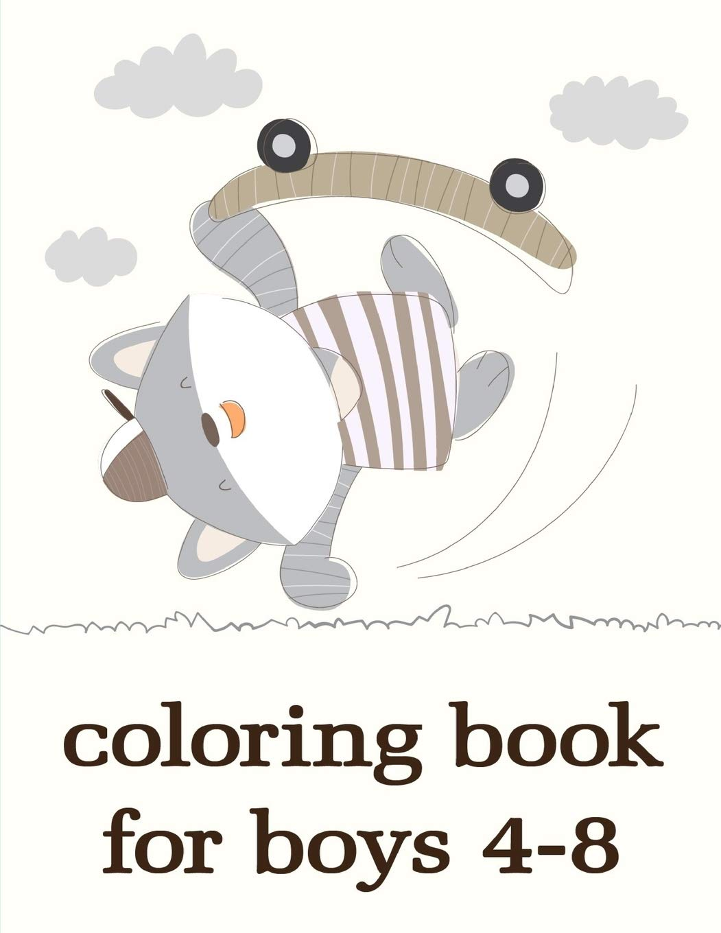 - Coloring Book For Boys 4-8: Christmas Coloring Pages For Boys