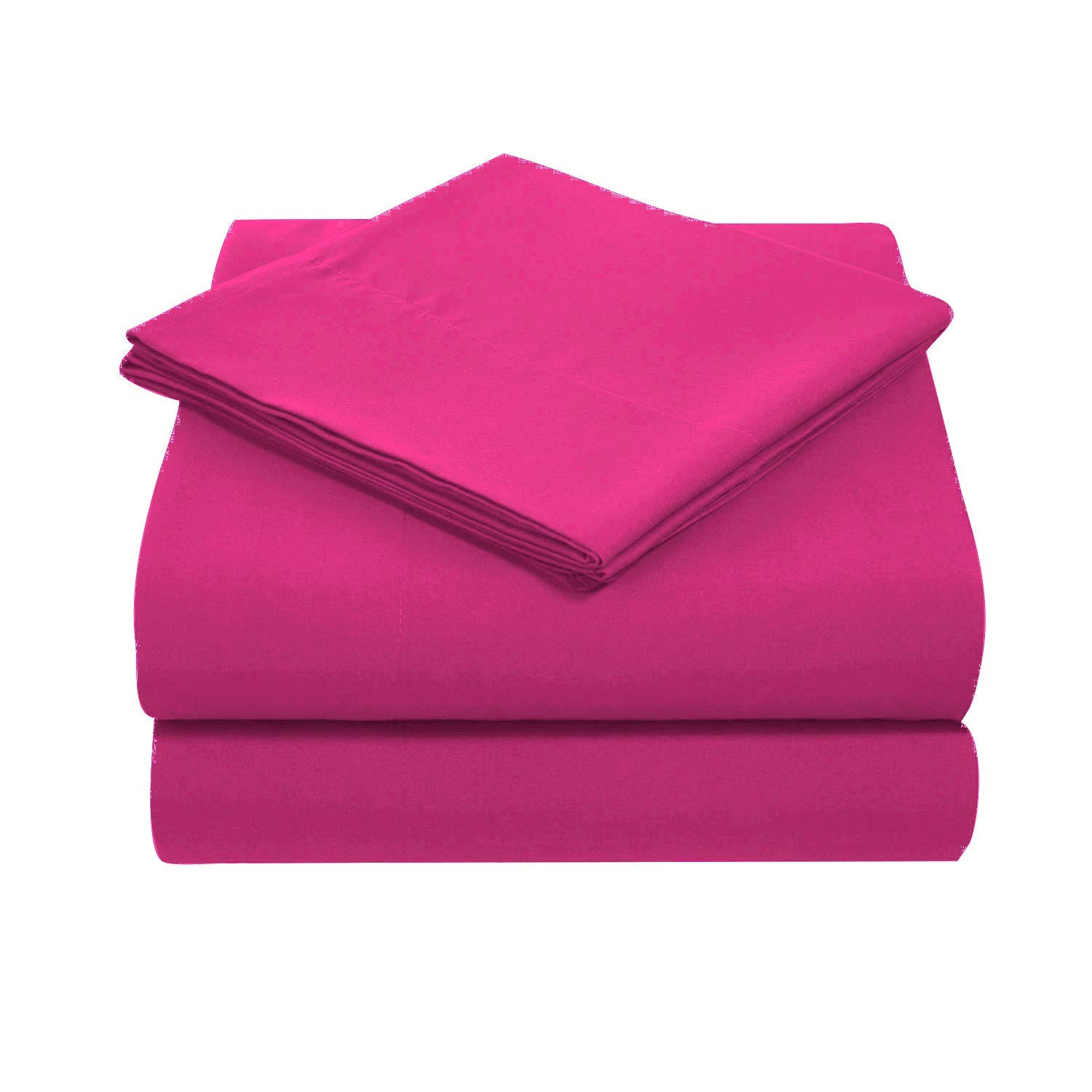 Kids' Furniture, Décor & Storage 400 TC ULTRA SOFT SILKY 100% EGYPTIAN COTTON 4 PIECE LUXURIOUS SHEET SET KING PINK SOLID BY PEARLBEDDING