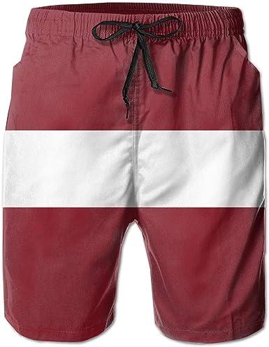 bestcustom Flag of Angola Womens Summer Beach Shorts Quick Dry Swim Trunks