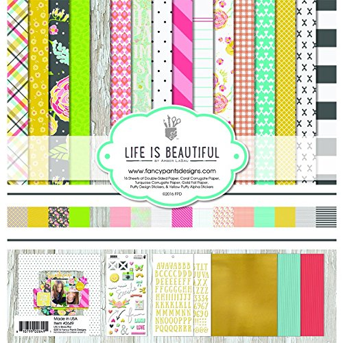 Fancy Pants Designs 2649 Life is Beautiful Scrapbooking Collection - Pants Sheet Fancy