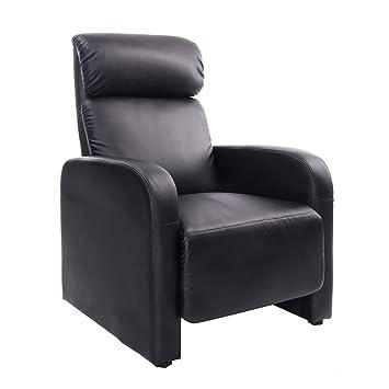 Lethzer Fauteuil de relaxation confortable pour la TV si¨ge en