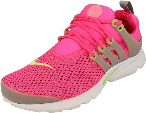 Nike Presto Br (GS), Chaussures de Sport Fille, Rose Rosa