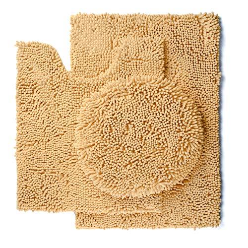 Pretigo Non Slip Chenille Bathroom Absorbent product image