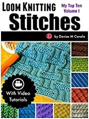 I've compiled 10 of my favorite Loom Knit Stitch patterns that I shared on my website in this little eBook.  I do want to warn you that these patterns are not written in a conventional manner. I wanted to make them simple enough for beginners...
