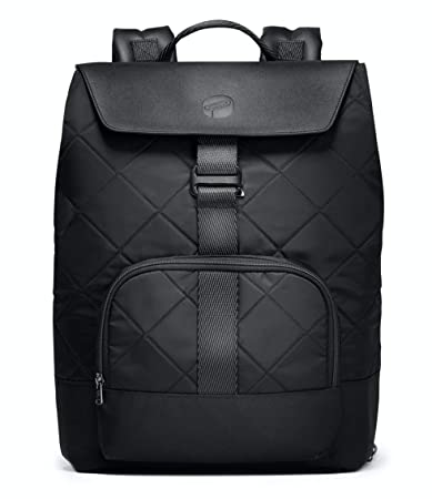d1263467a4 Amazon.com : PAPERCLIP Quilted Diaper Bag Backpack Changing Pad - Large  Capacity, Stylish, Multifunctional - Unisex Diaper Backpack (Black) : Baby