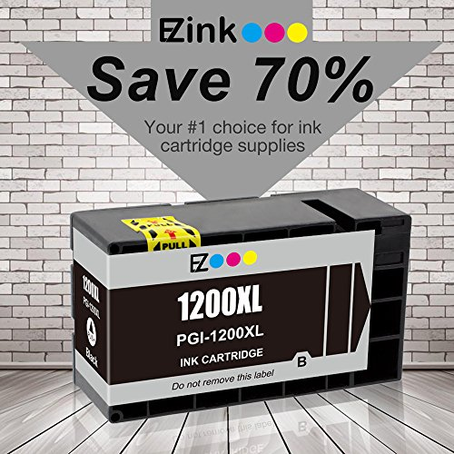 E-Z Ink (TM) Compatible Ink Cartridge Replacement For PGI-1200 XL PGI-1200XL PGI1200XL High Yield (2 Black, 1 Cyan, 1 Magenta, 1 Yellow) 5 Pack Works With MAXIFY MB2020 MB2320 Photo #8