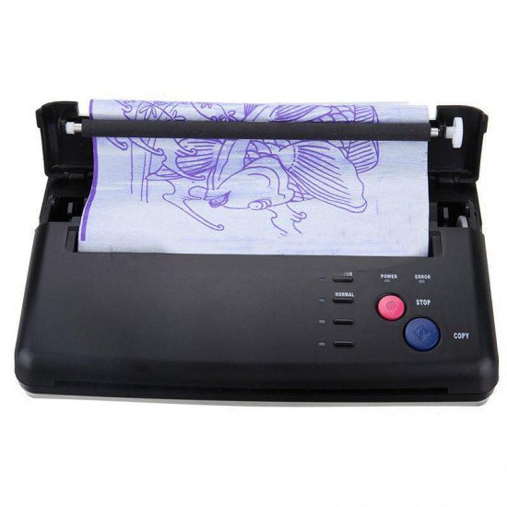 Denshine Pro Black Tattoo Transfer Copier Printer Machine Thermal Stencil Paper Maker
