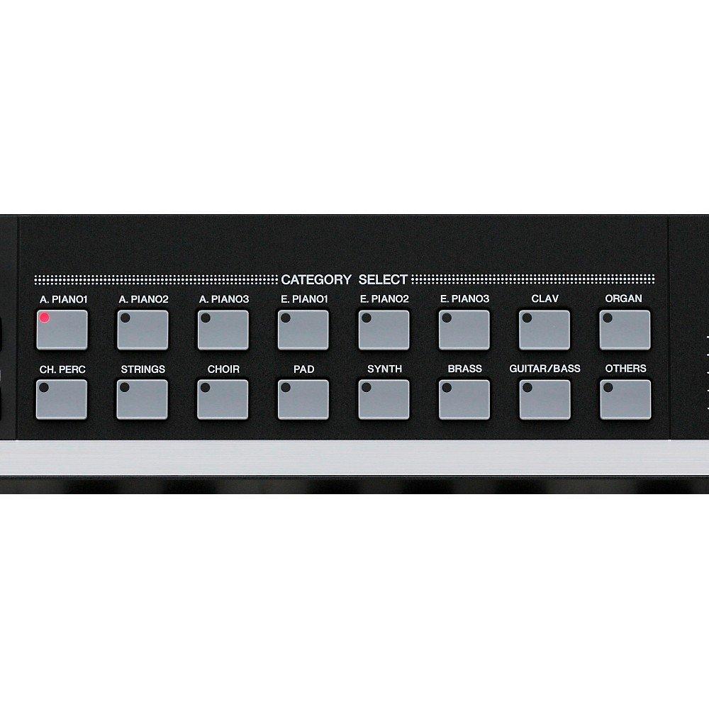 Yamaha CP40 Category Select menu