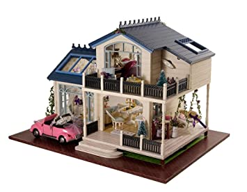 Toys & Hobbies Architecture/diy House/mininatures Girl Furniture Diy Miniature Doll House 3d Wooden Doll Houses Miniature Dollhouse Furniture Kit Toys For Children Sweet Heart Price Remains Stable