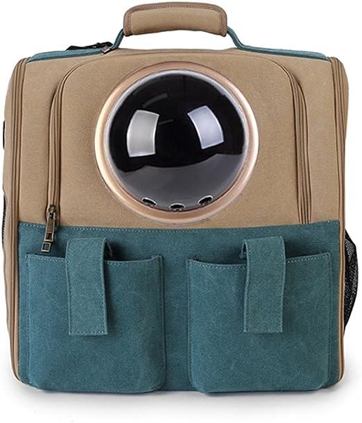 LDFN Cat Outage Cage Space Capsule Pet Kit Cat Cat Cat Backpack Dog Out Box Mochila Portátil ,A-38*26*38cm: Amazon.es: Hogar