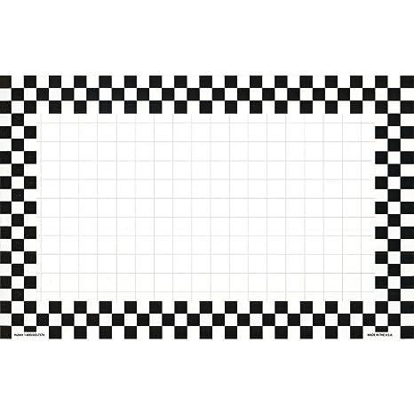 Price Sign Sign Cards Black Checkeredboard Board 11 L x 7 H 100 Per Pack