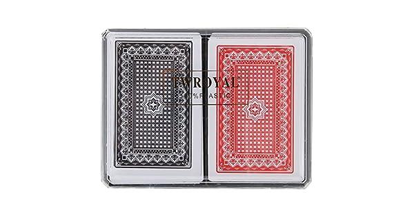 Amazon.com: Juego de cartas, tarjetas de impermeable de ...