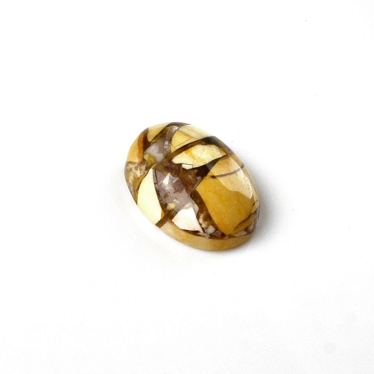 Quality Handcrafts Guaranteed Stone Cabochon Lapel Pin