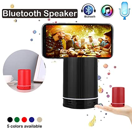 Gaddrt Altavoz portátil HiFi inalámbrico 5.0 Bluetooth Speaker ...