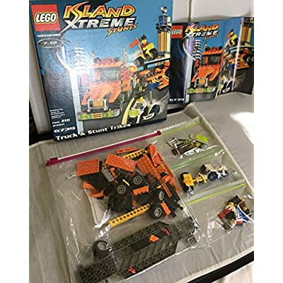 Lego - Island Xtreme Stunts : Truck & Stunt Trikes: Toys & Games