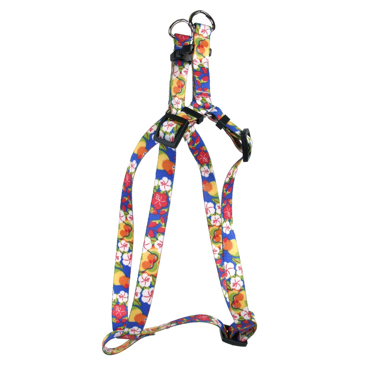 Yellow Dog Design Standard Step-In Harness, Lovebirds, Large 25'' - 40''