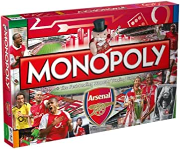 Arsenal FC Fútbol Monopolio 2015 Edition: Amazon.es: Hogar