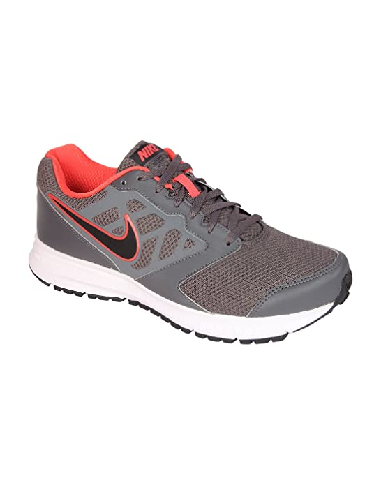 watch 71a7c 6a6cd Nike Men s Downshifter 6 MSL Dark Grey, Black and White Running Shoes - 12  UK India (47.5 EU)(13 US) (684658-005)  Buy Online at Low Prices in India  ...