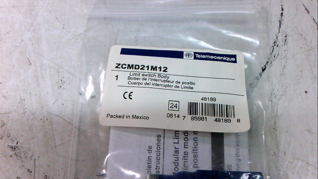 16 mm Depth 30 mm Width 50 mm Height 2 Poles Snap Action Telemecanique Sensors ZCMD21 Zamak Limit Switch Body