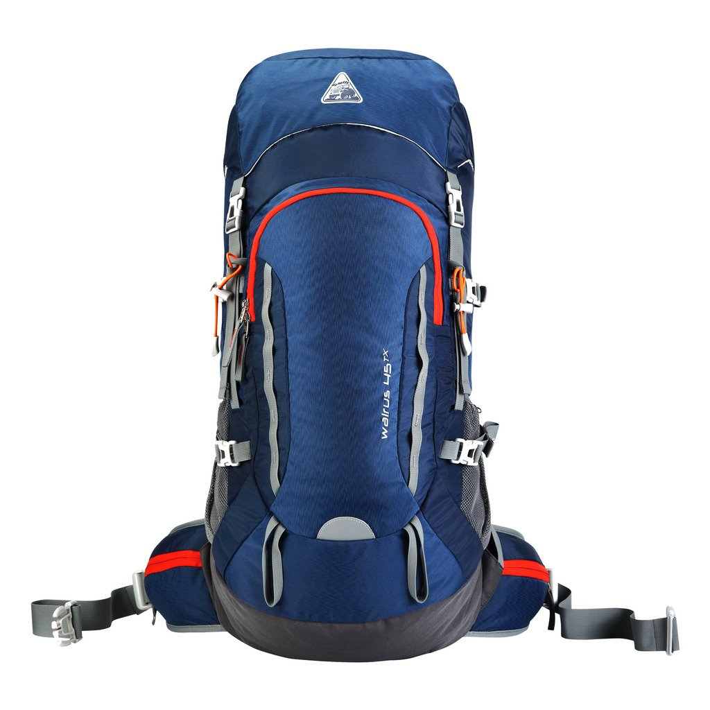7c61e59d0c68 Galleon - Kimlee Large 45L Outdoor Backpack Unisex Travel Climbing ...