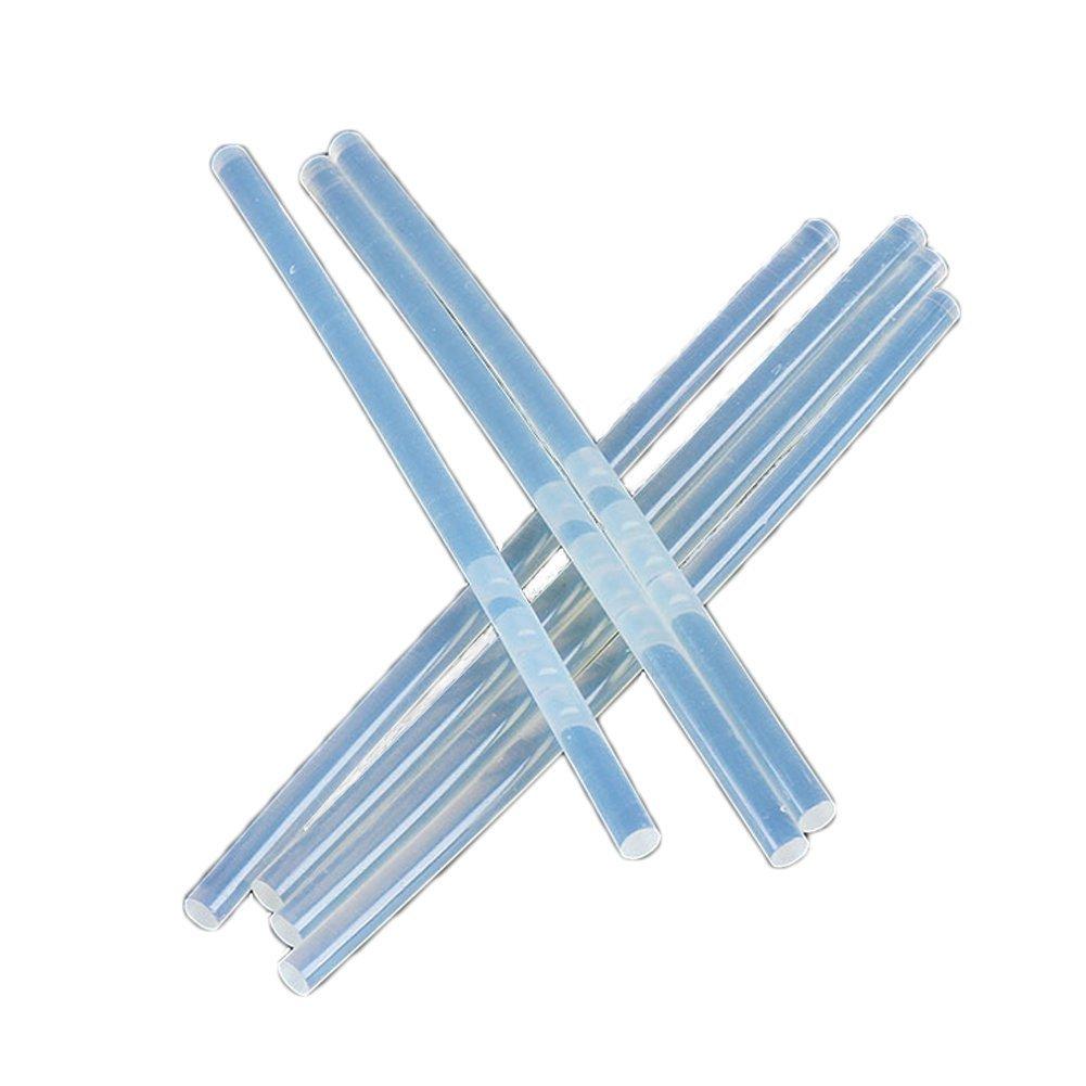 Environmental Transparent 18CM 0.7CM Hot Melt Glue Stick(50,100,200 Count) - High Temperature Glue Stick For for Crafting, DIY, and Home Repair (200)
