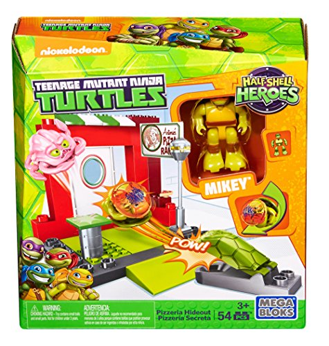 Mega Construx Teenage Mutant Ninja Turtles Half-Shell Heroes Pizzeria Hideout (Teenage Mutant Ninja Turtles Bad Guys)