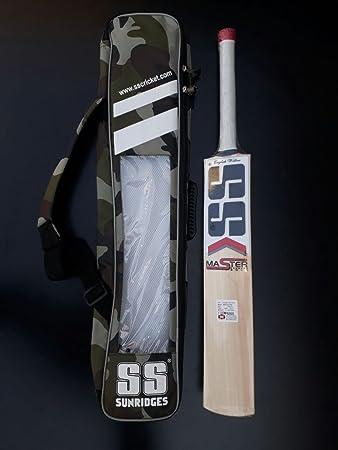 47aa4ef6d26 SS Master 7000 English Willow Cricket Bat  Amazon.co.uk  Sports   Outdoors