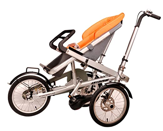 295683822da Amazon.com : MISHOW 3 in 1 Mother Bicycle Baby Stroller Pushchair 3 Wheel  Bike Folding Child Cargo Bicycle MBTS01Y : Baby