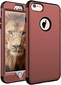 SKYLMW iPhone 6 Plus Case,iPhone 6s Plus Case, Three Layer Heavy Duty High Impact Resistant Hybrid Protective Cover Case for iPhone 6 Plus/6s Plus (Only for 5.5