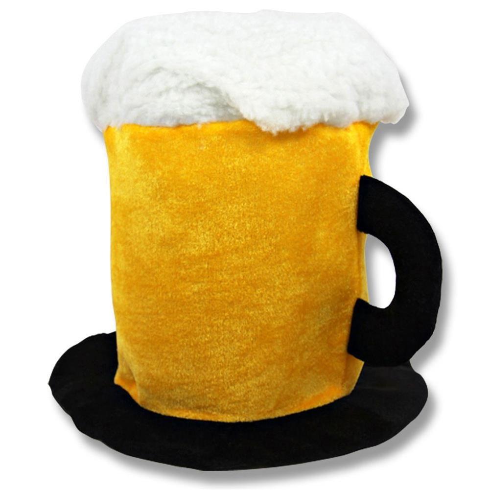Oktoberfest Plush Beer Stein Hat