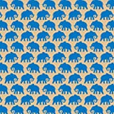 Printed Patterned Tissue Wrapping Paper elephants blue luxury 5 sheets