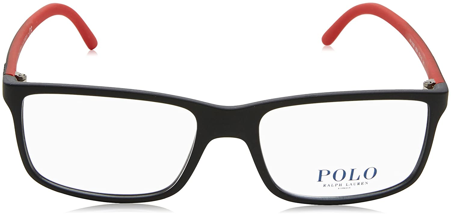 Polo Ralph Lauren Herren Korrektionsbrille PH2126 Matte Black / Red ...
