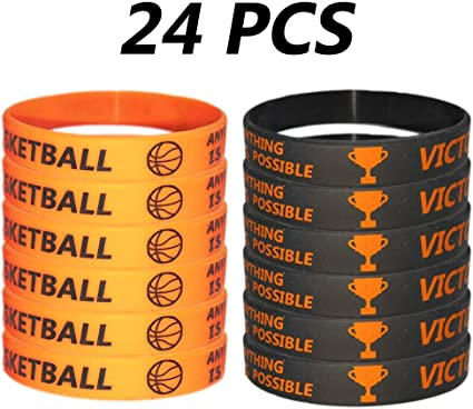 24 Pack Basketball Party Favor Whistles