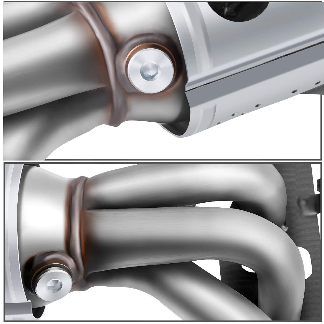 EPA Compliant Catalytic Converter for 2002-2006 Nissan Altima//Sentra 2.5L Front Exhaust Manifold w//Heat Shield