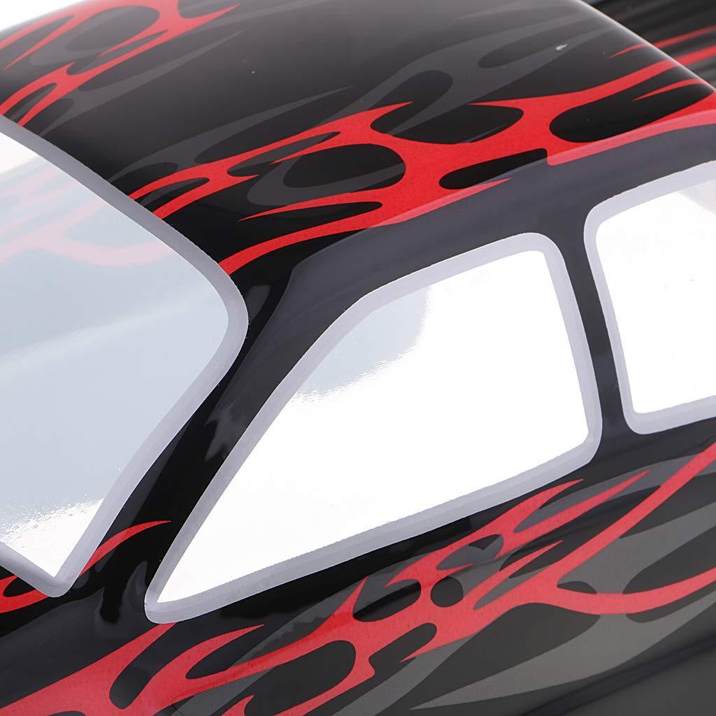 sharprepublic Pre-Painted Body Shell Bodywork Canopy for HSP 94188//94111//94108 RC Truck F