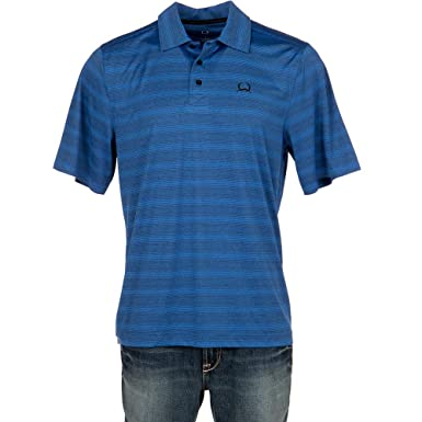 58c9d24a Cinch Men's Arenaflex Polo Shirt at Amazon Men's Clothing store: