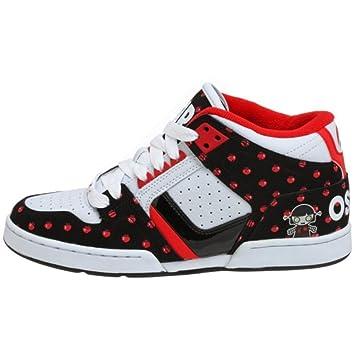 Osiris South Bronx Skate Shoes Girls White   Black   Radio Heart   Lucy  Lies efe09841495