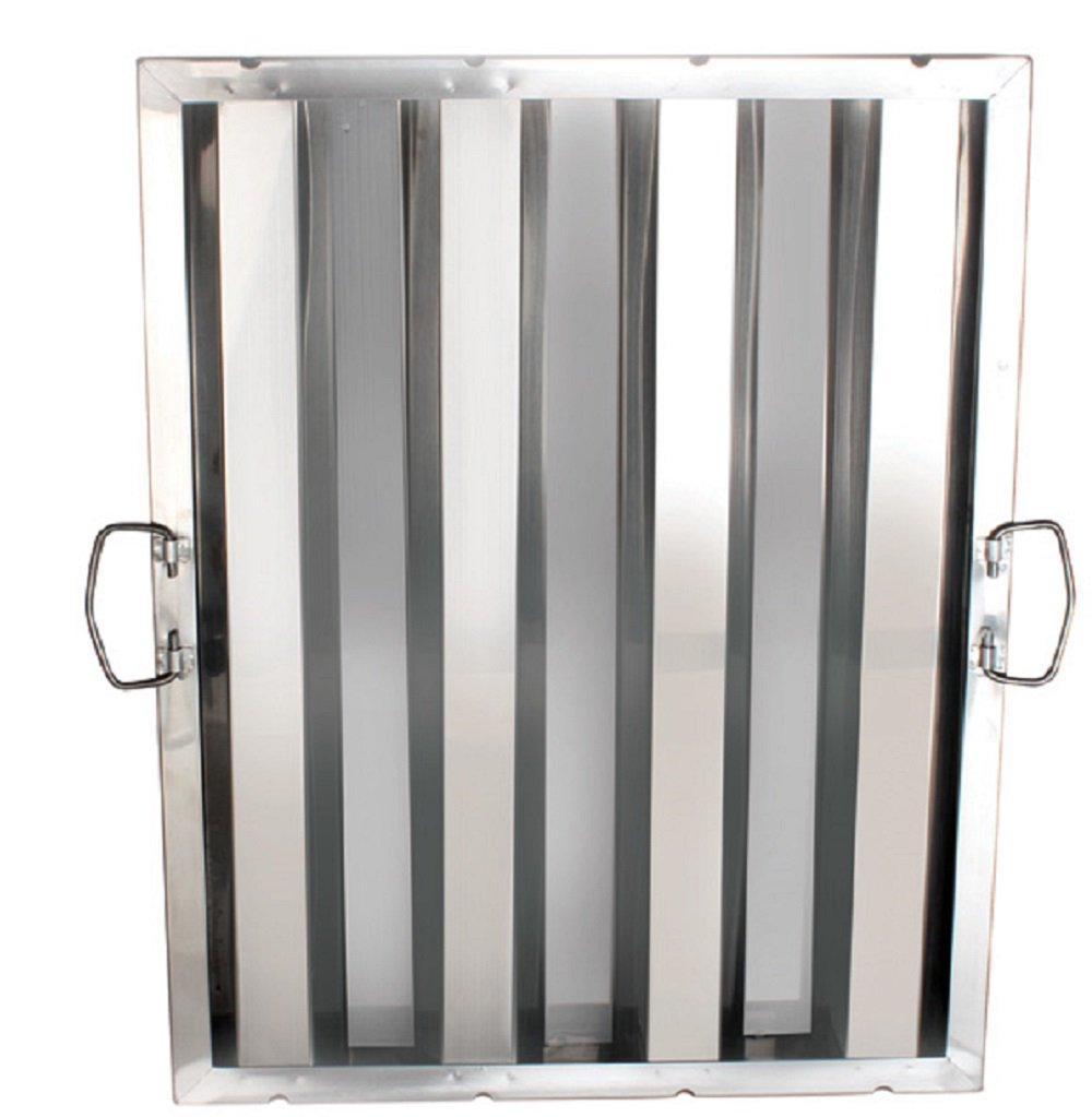 FILTER STAINLESS STEEL HOOD GREASE FILTERS DIFFERENT SIZES RESTAURANT (16' X 20') Wellington Group