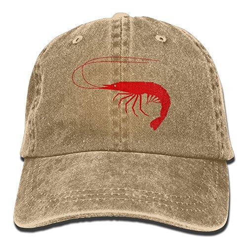 Xin Pilig Red Shrimp Cowboy Hat Unisex Baseball Trucker Caps]()