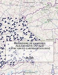 Repertoire de campings ALLEMAGNE DU SUD  (avec gps et cartes detaillees)