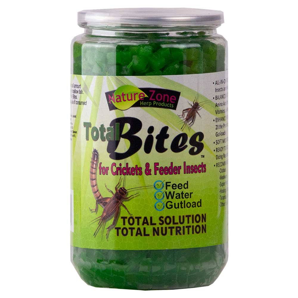 Nature Zone SNZ54512 Cricket Total Bites Soft Moist Food, 24-Ounce CTB2