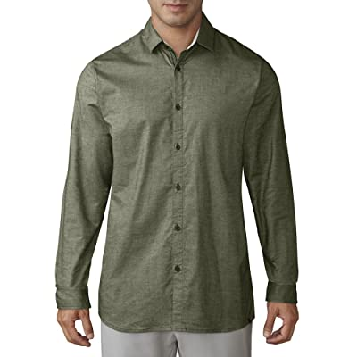 Amazon.com : adidas Men's X Woven L/S Button-Up Shirt : Clothing