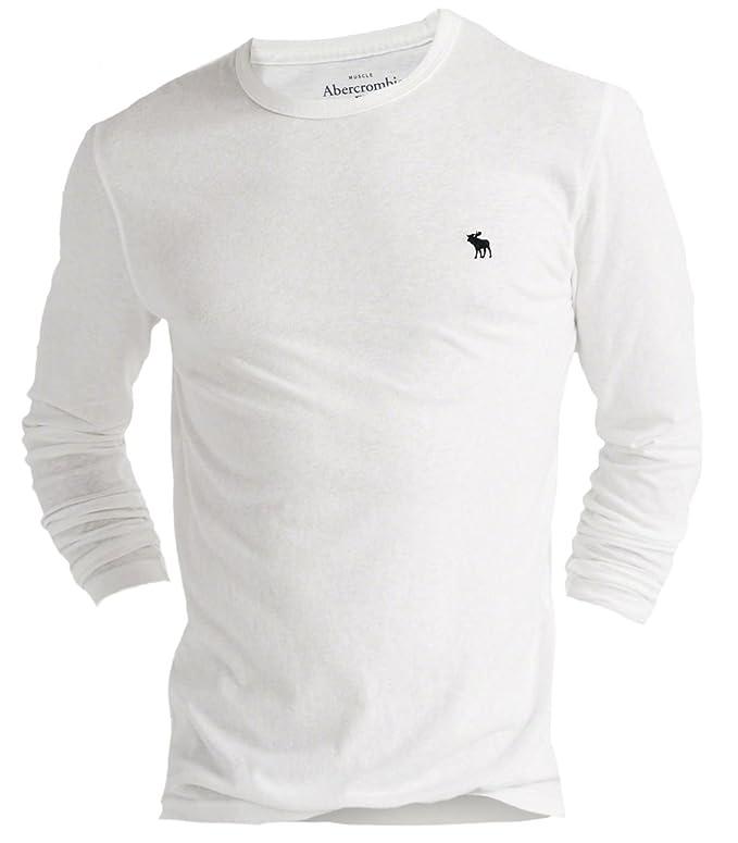 Abercrombie & Fitch - Camiseta - Camiseta - Básico - Manga Larga ...