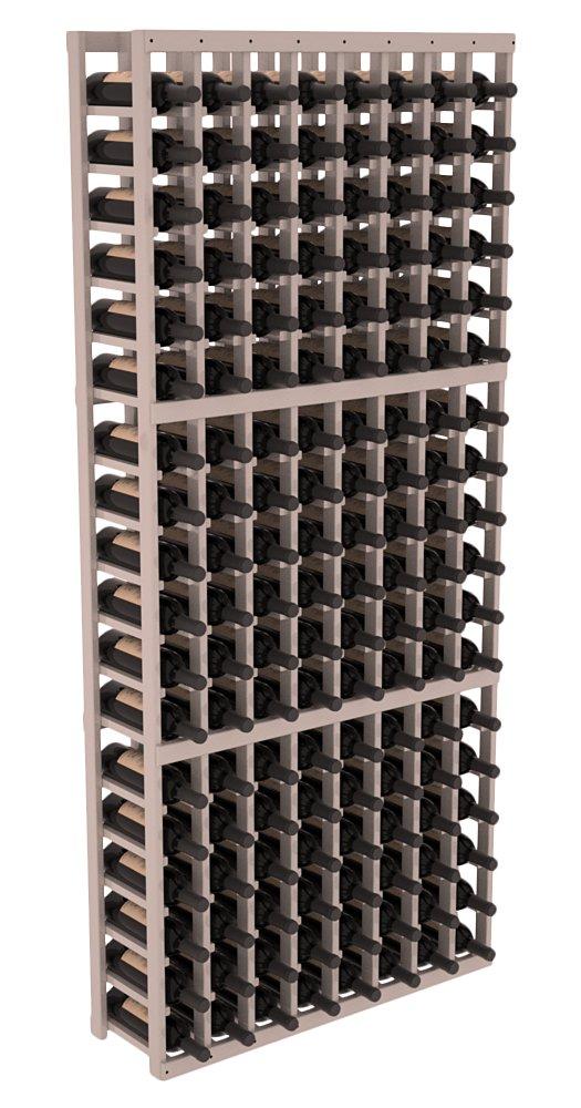 Wine Racks America Ponderosa Pine 8 Column Wine Cellar Kit. 13 Stains to Choose From! by Wine Racks America
