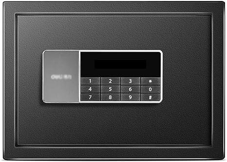 Cajas de caudales Caja Fuerte Segura Caja de Seguridad contraseña electrónica de la Oficina en casa pequeña Mini Pared (Color : Black, Size : 35 * 25 * 25cm): Amazon.es: Hogar