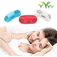ZJchao Anti Ronquidos Nasal Dilator para Ayuda Breathing smoothly y Relieve Congestión Nasal Nose Mejor Respirar para Dormir(Blanco)